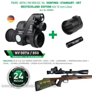 PARD 007A / NV 850 PATRONUS Gen.2. HUNTING - STANDART – SET mit 12 mm Linse Art.Nr. 500001