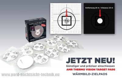 AMR – WÄRMEBILD- ZIELPADS für Wärmebildziele-Geräte Kalibrierug  Art.Nr. 2100