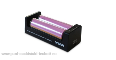 Doppel Li-Ion  Akku  Ladegerät  XTAR MC1 zum laden für 2 AKKU / Art.Nr. 15007