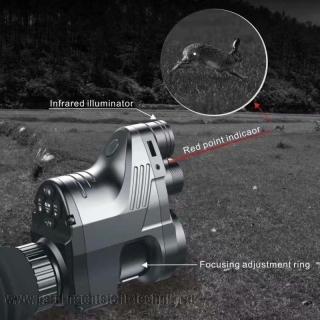 PARD 007 PATRONUS EXKLUSIV SET  NV 850 Gen.5 ( EUROPA - EDITION ) KOMPLET SET mit ZF Schnellmontage 45,0 mm Ø mit Laserpointer und mit zuschaltbares Absehen Generation V.5. Art. Nr. 2007-2