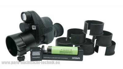 PARD-007 PATRONUS PREMIUM SET PLUS EUROPA EDITION NV 850 Gen.5  mit Ziellaser u. mit elektronisches Absehen Art.Nr. 24007