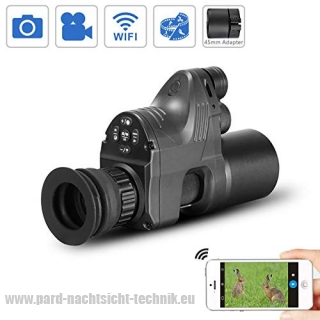 PARD-007 PATRONUS SET DEUTSCHLAND BRD EDITION  / Digitales DUAL USE HD Nachtsichtgerät Generation V.5 ( NV 850 ) ohne zuschaltbarem Ziellaser u. Absehen   Hinweis : - in Deutschland erlaubt Art.Nr. 1007-1