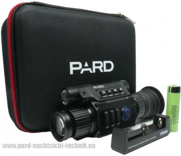 NV- PARD-008  PATRONUS NV 850 PREMIUM  Nachtsicht  Zielfernrohr  Art.Nr. 1008  ( NV 850 ) ( PARD EUROPA EDITION )  mit Laser  u. Absehen HD Nachtsichtgerät