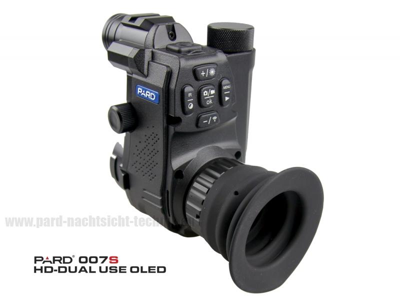 PARD NV-007S 850nm HD- Dual-Use 12mm Linse Werksset mit Adapter 45mm Art.Nr.20210712