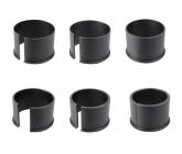 ADAPTER-   PREMIUM- DISTANZRINGE - 6SET - PVC Ø 0,5 - 3 mm für PARD 007 / 007A / Art. Nr. 140002