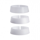 SPEED - ADAPTER- PVC-DISTANZRINGE - 3SET - PVC Ø 35.2- 47,0 mm   für PARD 007 / 007A / Art. Nr. 140004