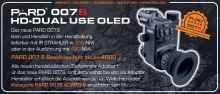 PARD NV-007S 850nm HD- Dual-Use 16mm Linse Werksset mit Adapter 45mm Art.Nr.20210716