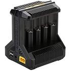 NITCORE 8 fach Schnell-Ladegerät  für 1 bis 8 Stück Li-Ion, LiFePO4, NiMH und Ni-Cd Akku Art. Nr. 30007