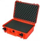 PARD - Hartschalen- Koffer Modell I schwarz /  mit teilbarer Schaumstoffeinlage Art. Nr. 201901
