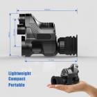 PARD-007 PATRONUS EXKLUSIV SET DEUTSCHLAND BRD  EDITION  / Digitales HD Nachtsichtgerät  DUAL USE  Generation V.5  ( NV 850 )  ohne  zuschaltbarem  Ziellaser  u. Absehen  Art. Nr.1007-2